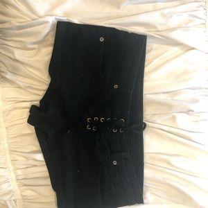 Carmar Lace up shorts